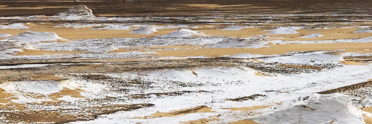 The white desert of Egypt Slide 5