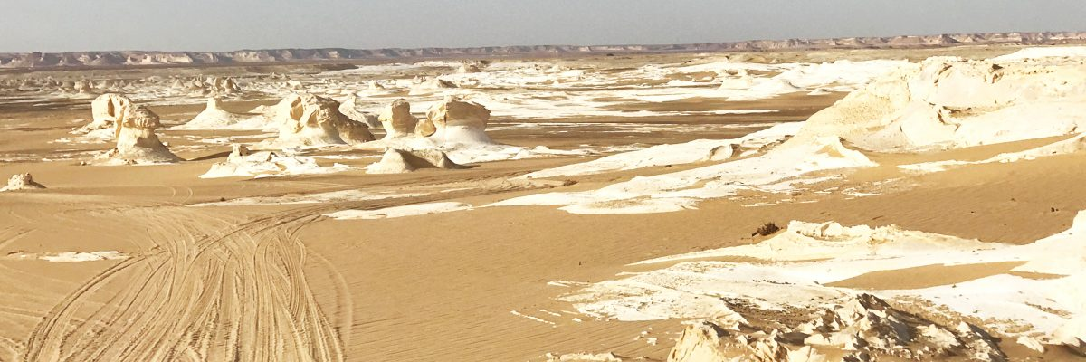 The white desert of Egypt Slide 6