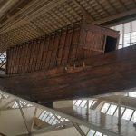 The solar ship (Khufu ship)