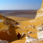 The white desert of Egypt