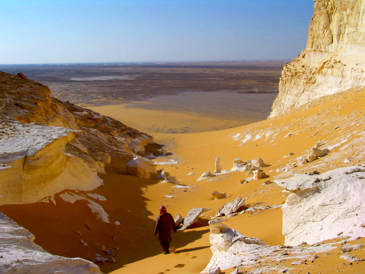The white desert of Egypt Slide 1