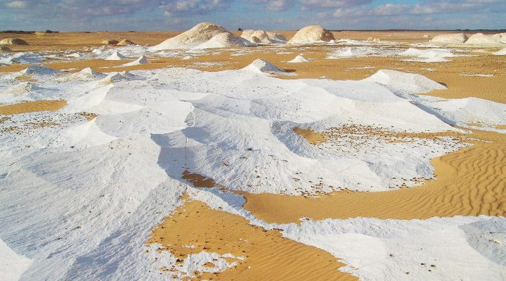 The white desert of Egypt Slide 2