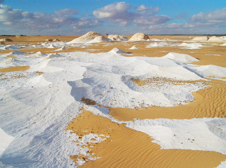 The white desert of Egypt Slide 2