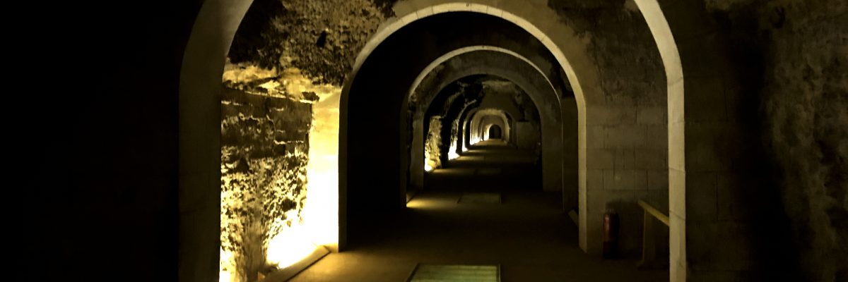 Temple of the secrets  (Serapeum) Slide 4