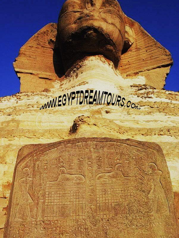 Tuthmosis IV und die Sphinx Slide 1