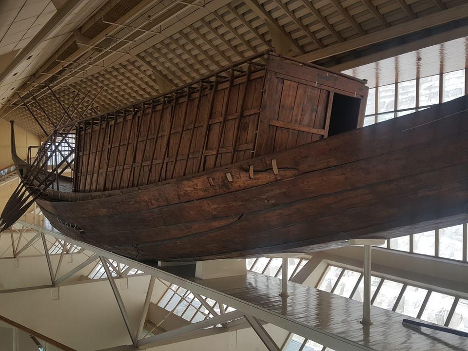 Das Solarschiff (Khufu-Schiff) Slide 1