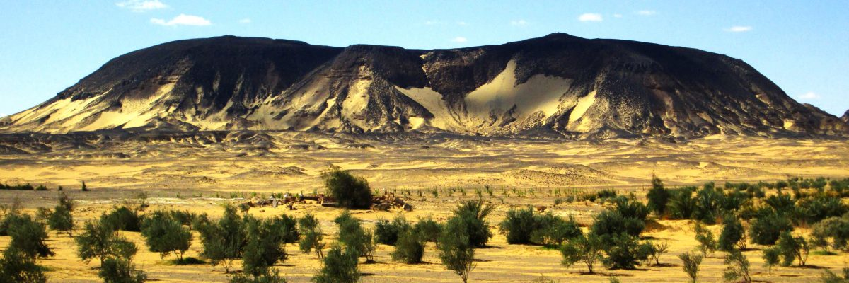 Die schwarze Wüste Slide 1